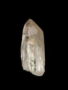 Quartz with chlorite inclusions; Krushev Dol Mine, Bulgaria - Alexandria Mineral Shop