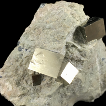 Load image into Gallery viewer, Pyrite; Valdeperillo, Spain - Alexandria Mineral Shop