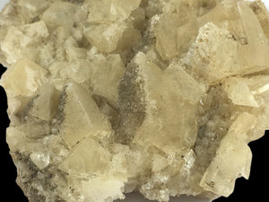 Calcite with stilbite and apophyllite; Fanwood Quarry, New Jersey, USA - Alexandria Mineral Shop