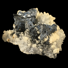 Load image into Gallery viewer, ~Galena, quartz and calcite; Potosí Mine, Mexico - Alexandria Mineral Shop