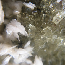 Load image into Gallery viewer, Dolomite on fluorite; Moscona Mine, Spain - Alexandria Mineral Shop