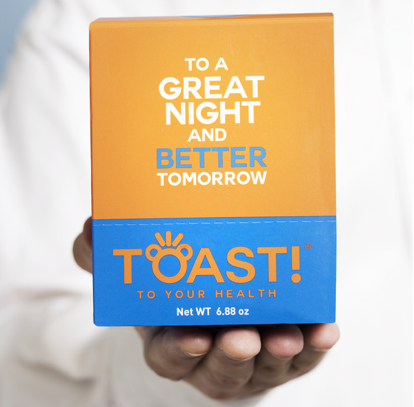 Toast! Before You Drink Gummies Carton (10 packs per carton)