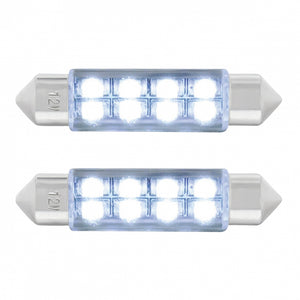 FESTOON STYLE 8 LED 40MM WHITE PR