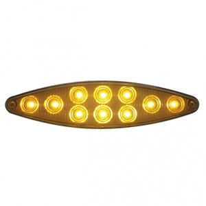 CAT EYE 10 LED AMB/AMB W/ BEZEL