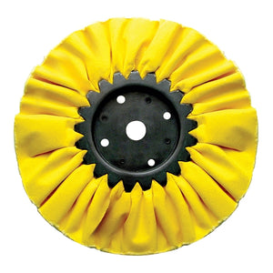 "8"" YELLOW TREATED BUFF WHEEL"