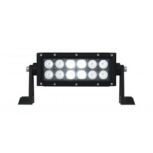 "7.5"" LIGHT BAR 2 ROW 12 HP LED"