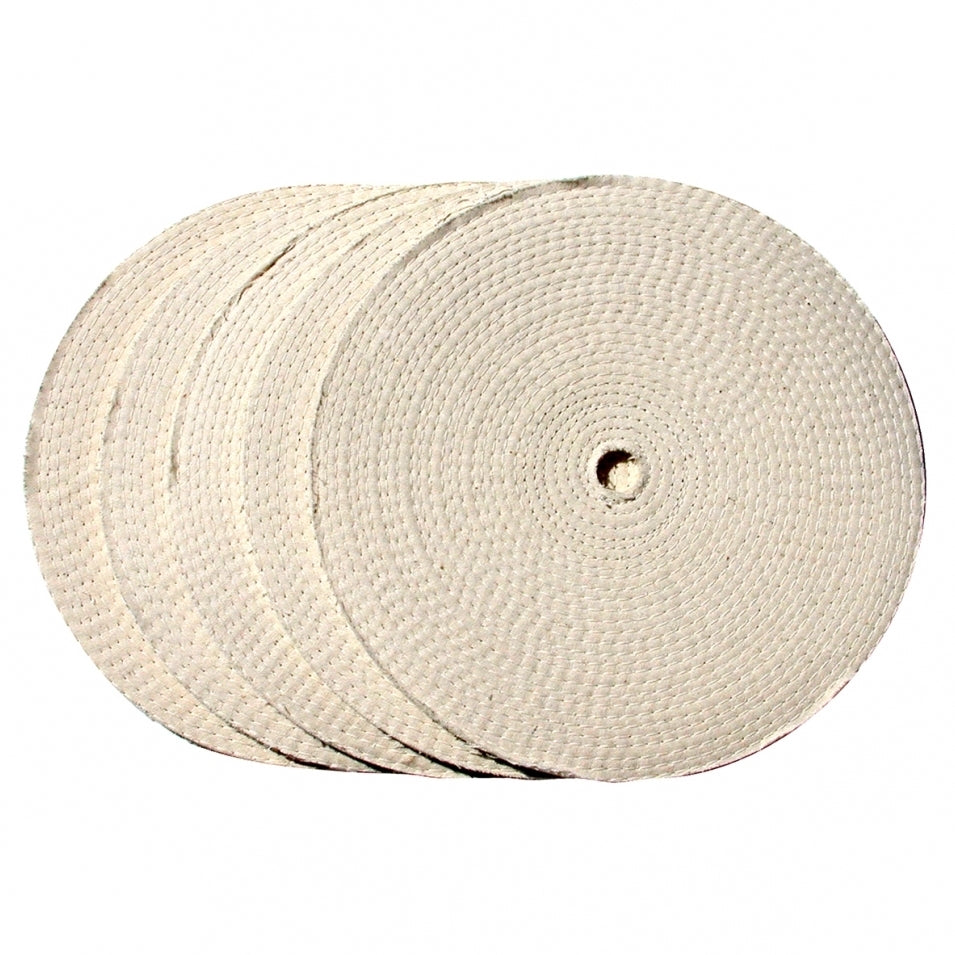 MUSLIN BUFF WHEEL 5/SET