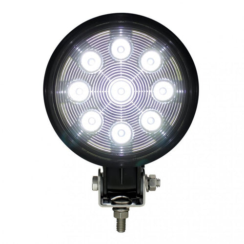 WORK LIGHT 9 LED 1800 LUMIN ROUND