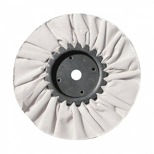 "8"" WHITE TREATED BUFF WHEEL"