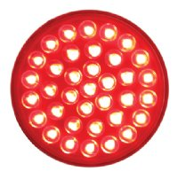 "4"" Round Stop Turn Tail Light"