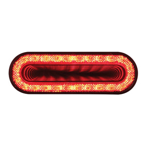MIRAGE DOUBLE VISION OVAL  RED/CL