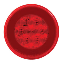 "4"" ROUND RED 21 LED GLO LIGHT"