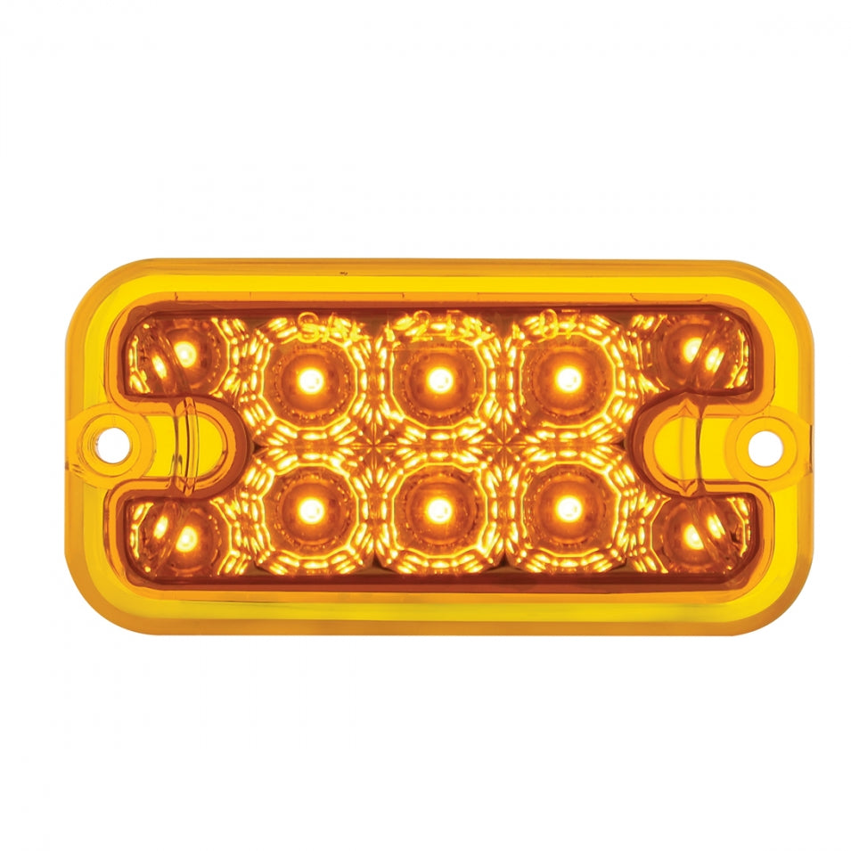 AMBER 10 LED REPL DUL FUNCT