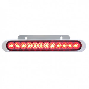 "STRIP 12 RED LED 6-1/4"" BRKT"