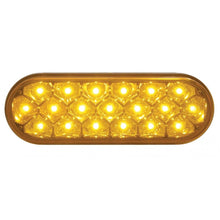 OVAL AMBER CLEAR 19 LED