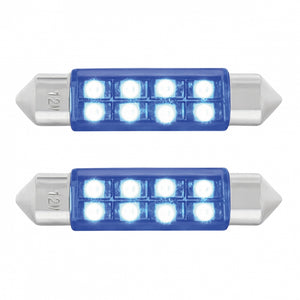 FESTOON STYLE 8 LED 40MM BLUE PR