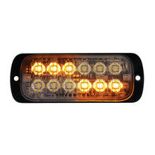 STROBE 12 LED SLIM HP AMBER