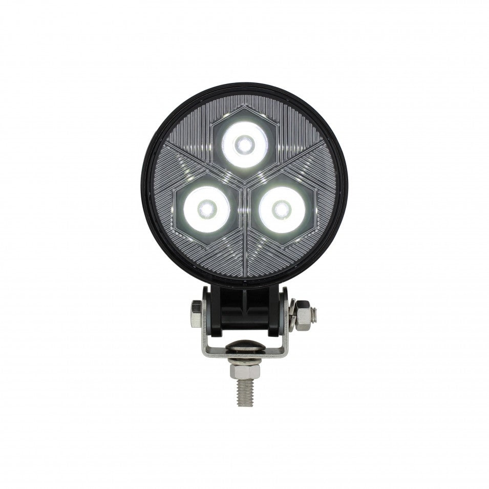 WORK LIGHT 3 LED  RND 600 LUMEN