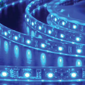 5M LED STRIP 50/50 IP68 BLUE