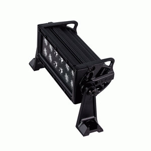 "HEISE 8"" DUAL ROW BLACKOUT 2880 LUMENS"