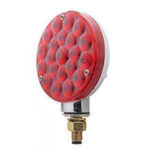 "4"" ROUND PEDISTAL 21 LED RED"