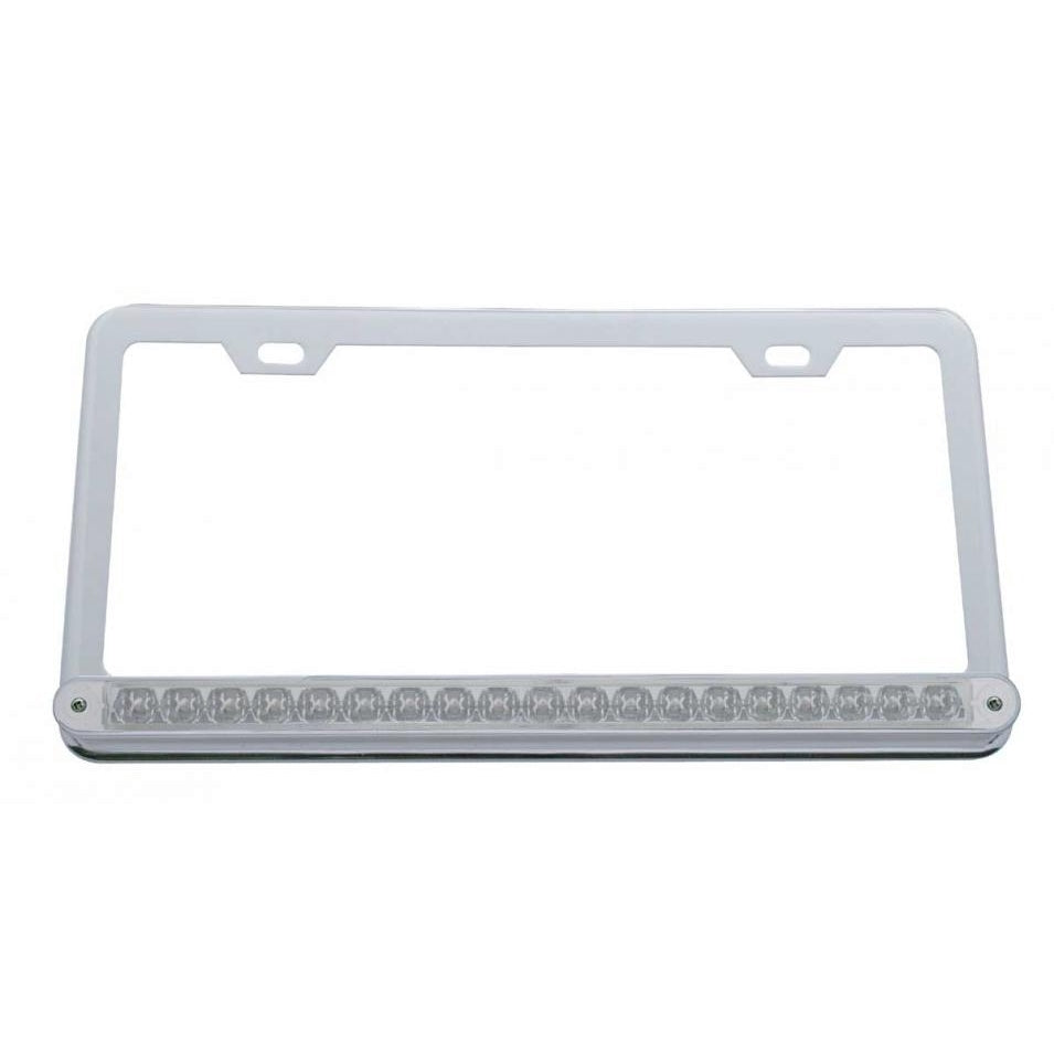 19 LED LICENSE PLATE RED/CLR
