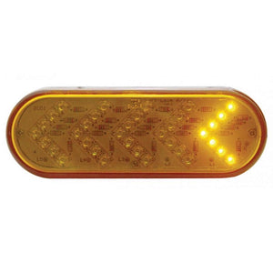 OVAL AMBER SEQUENTIAL AMB LED