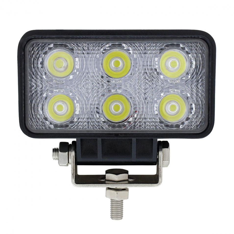 WORK LIGHT RECT 1100 LM 6 LED