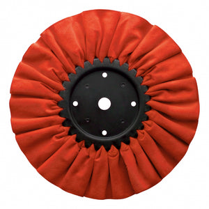 RED TREATED POLISHING WHEEL 10""