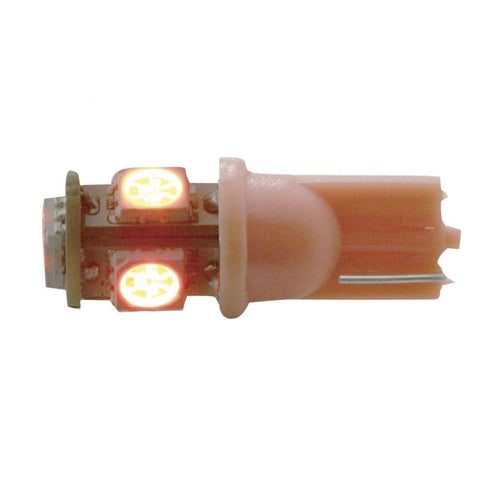 5 LED RED 194 360 BULB PAIR