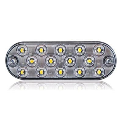 OVAL SURFACE MT 14 LED WHITE
