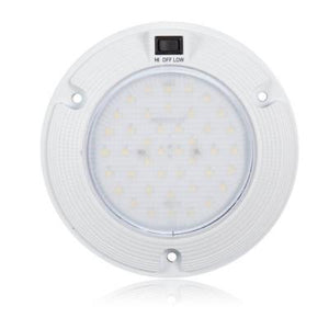 DOME LIGHT WHITE W/ SWITCH