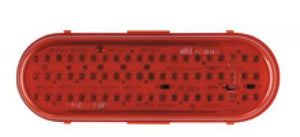 OVAL RED STT 60 LED