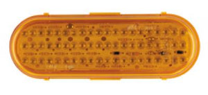 OBLONG AMBER 60 LED