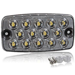 RECT SURF MT 22 LED THIN WHTE