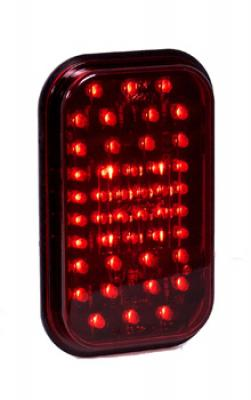 RECT 44 LED S/T/T RED