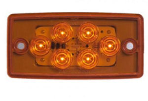 FL FLUSH MOUNT 6 LED CAB LIGHT