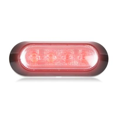 STROBE 4 LED HIGH POWER RED
