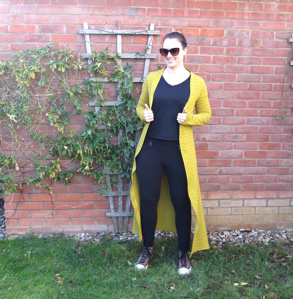 Guest Post by Emma of Crafty Clyde - Cat Eye Blackwood Cardigan