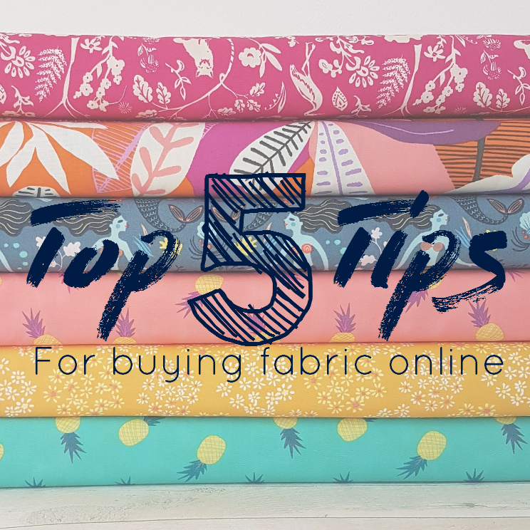 Top 5 Tips for Online Fabric Shopping
