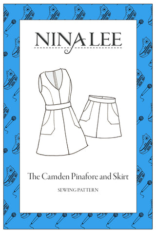 Camden Pinafore - Nina Lee