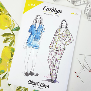 Carolyn Pajamas by Closet Case Patterns