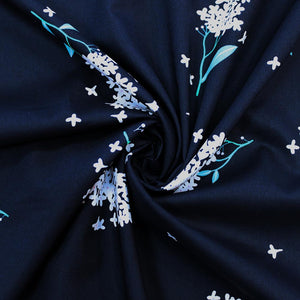 BOLT END - Elderflower Press - Navy - 70cm