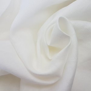 white washed linen fabric