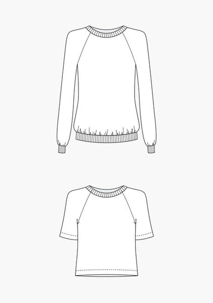 Linden Sweatshirt by Grainline Studios