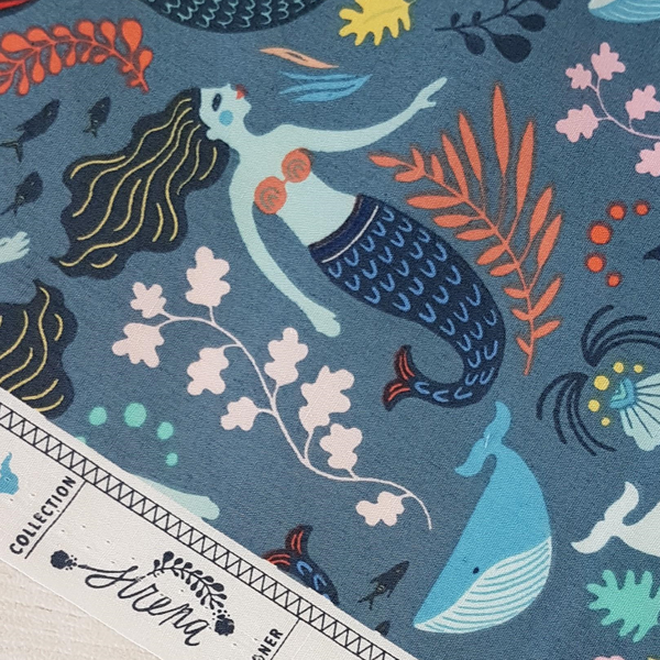 mermaid fabric UK