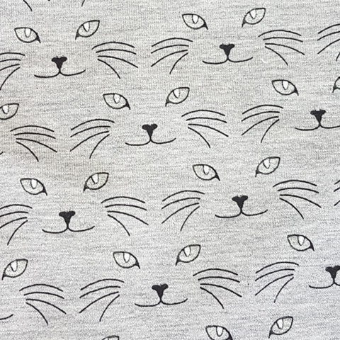 BOLT END Cat Eyes Jersey - Grey - 90cm