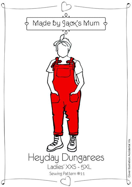 Made By Jacks Mum Heyday Dungarees Sewing Pattern