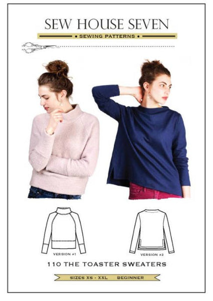 Toaster Sweaters - Sew House Seven