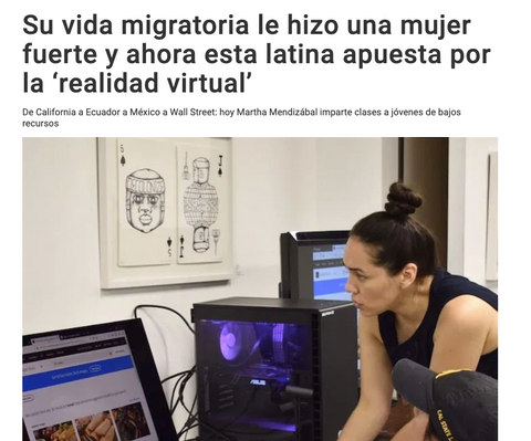 TLX Labs interviewed by Spanish-news publication, La Opinion.